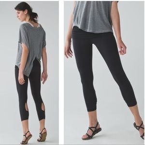 LULULEMON Rolled Down Dance Wunder Under Pant S 10
